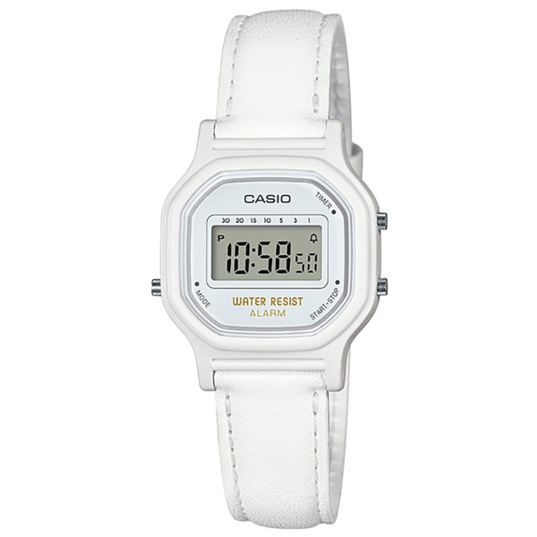 Casio LA-11WL-7AEF Ladies Water Resistant Watch - White