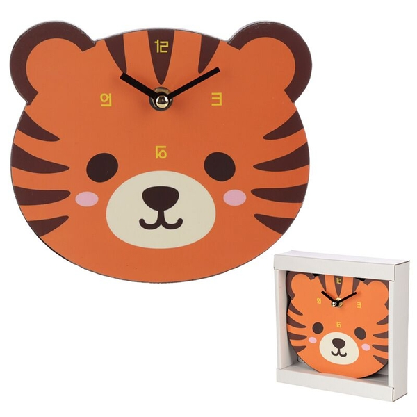 Tiger Shaped Wall Clock