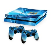 Official Manchester City FC PS4 Console Skin and 2x Controller Skin Combo Pack