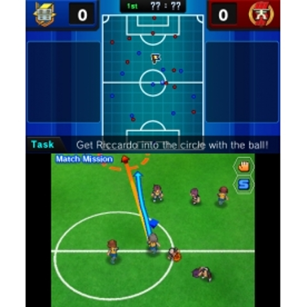 Inazuma Eleven GO Shadow 3DS Game - Image 2