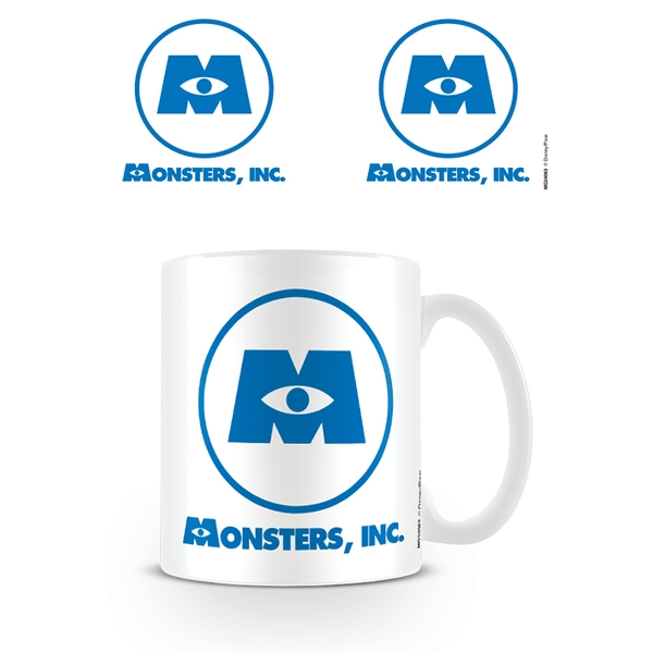 Disney Pixar - Monsters Inc Logo Mug - Image 1