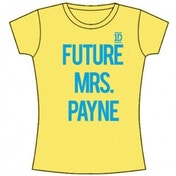 One Direction Future Mrs Payne Skinny Yellow TS: Small