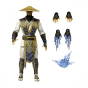 Ex-Display Raiden (Mortal Kombat X) Mezco 6 Inch Action Figure Used - Like New