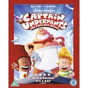 Captain Underpants Blu-ray