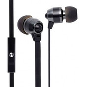 Groove-e Smart Buds Metal Earphones with Remote Mic Black