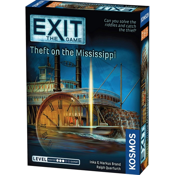 EXIT: Theft on the Mississippi Board Game