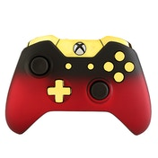 Red Shadow & Gold Edition Xbox One Controller