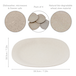 Set of 4 Eco Friendly Wheat Straw Plates | M&W - Image 4