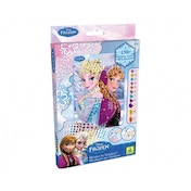 Disney Frozen Anna and Elsa Sticky Mosaics