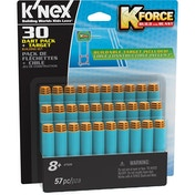 K'nex K-Force Foam Darts Pack and Target - Pack of 30