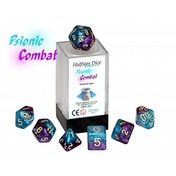 Halfsies Dice - Psionic Combat Poly 7 Dice set
