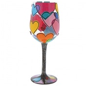 Love Is All Around Us (Lolita) Wine Glass