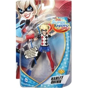 Ex-Display DC Super Hero Girls Harley Quinn 6 Inch Fashion Doll Used - Like New