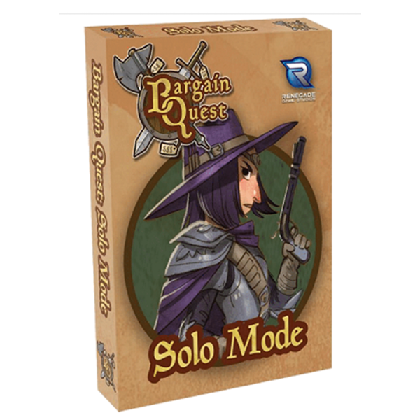 Bargain Quest: Solo Mode Board Game Expansion