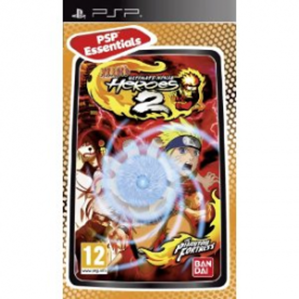 Naruto Ultimate Ninja Heroes 2 The Phantom Fortress Game PSP