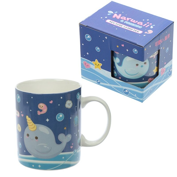 Narwaii & Friends Narwhal New Bone China Mug