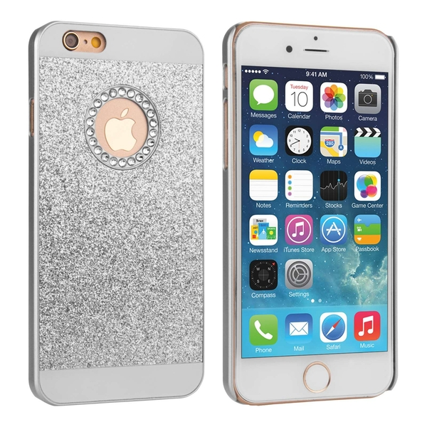 Compare prices with Phone Retailers Comaprison to buy a Apple iPhone 8 Flash Diamond Case - Silver (Ma)