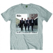 The Beatles On Air Grey Mens TShirt: Medium
