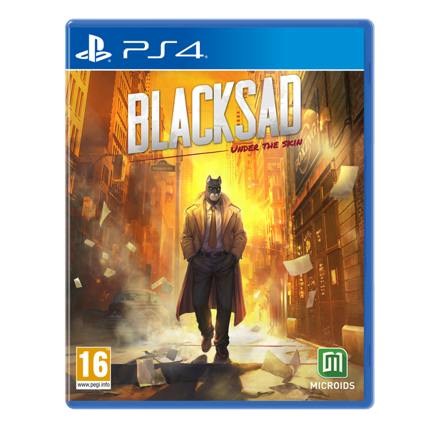 Blacksad Under The Skin Limited Edition PS4 Game