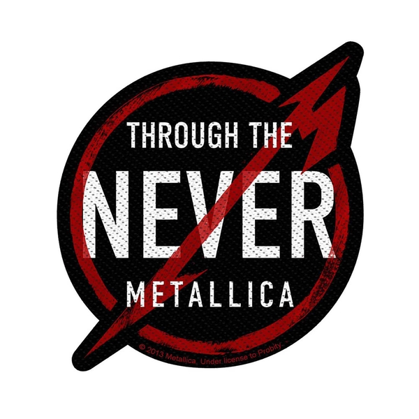 Metallica - Through the Never Standard Patch