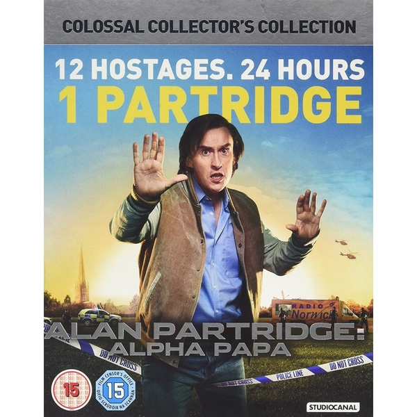 Alan Partridge Alpha Papa Colossal Collector's Collection DVD
