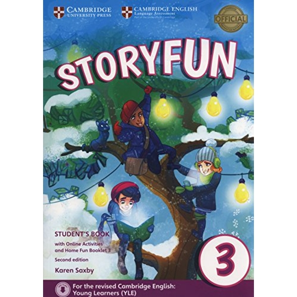 Storyfun for Movers Level 3 Student's Book with Online Activities and Home Fun Booklet 3  Mixed media product 2017