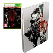 Metal Gear Solid V The Phantom Pain Day One Steelbook Edition Xbox 360 Game