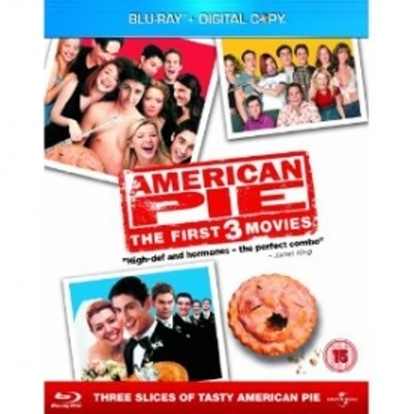 American Pie 1-3 Blu-ray & Digital Copy
