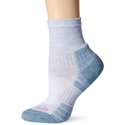 Bridgedale Woolfusion Trail Light Women's Sock Grey and Smokey Blue Small