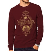 Harry Potter - Yule Ball Men's Small Crewneck Sweatshirt - Red