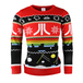 Atari - Official Atari Unisex Christmas Jumper Medium - Image 5