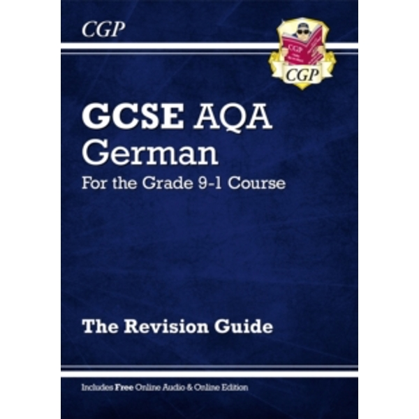 New GCSE German AQA Revision Guide - For the Grade 9-1 Course (with Online Edition) by CGP Books (Paperback, 2016)
