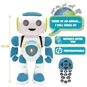 Lexibook ROB20EN Powerman Junior Educational Robot