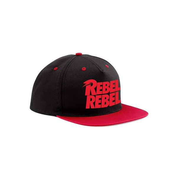 David Bowie - Rebel Rebel Snapback - Black