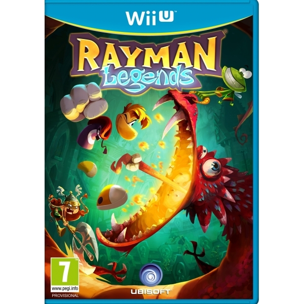 Rayman Legends Game Wii U