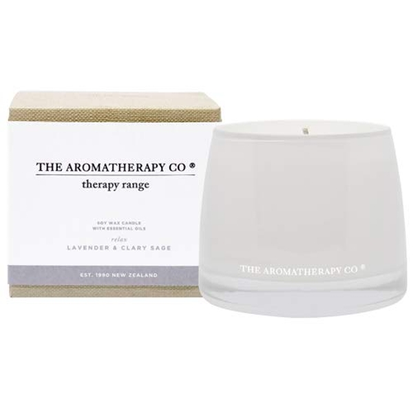 260g Relax Therapy Candle Lavender & Clary Sage