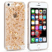YouSave Accessories iPhone 5 / 5s / SE Tinfoil Soft Case - Gold