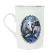 Blue Moon Mug By Anne Stokes