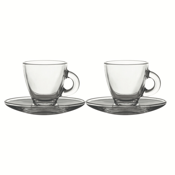 Rayware Entertain Espresso Cup & Saucer Set Of 2
