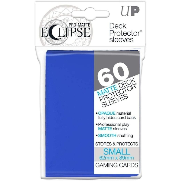 Ultra Pro Pro-Matte Pacific Blue Small Deck Protectors - 60 Sleeves