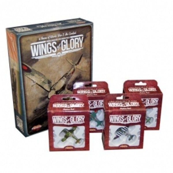 WW2 Rules and 4 Airplane Combo Pack - ozgameshop com