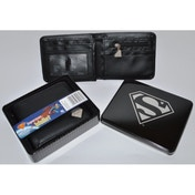 Ex-Display Superman Wallet in Tin Used - Like New