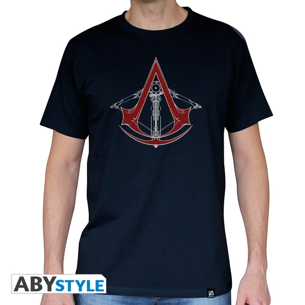 Assassin's Creed - Ac5 - Crossbow Men's XX-Large T-Shirt - Navy