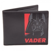 STAR WARS Darth Vader Red Logo Bi-Fold Wallet