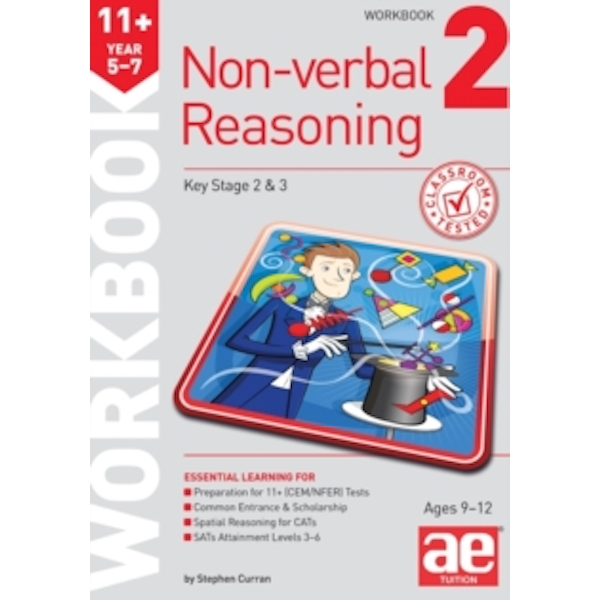 11+ Non-Verbal Reasoning Year 5-7 Workbook 2: Including Multiple Choice Test Technique by Stephen C. Curran, Andrea F. Richardson (Paperback, 2014)