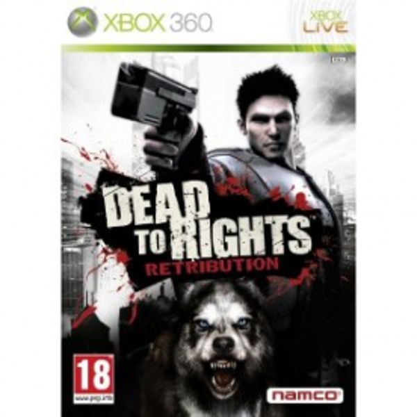 Dead To Rights Retribution Game Xbox 360