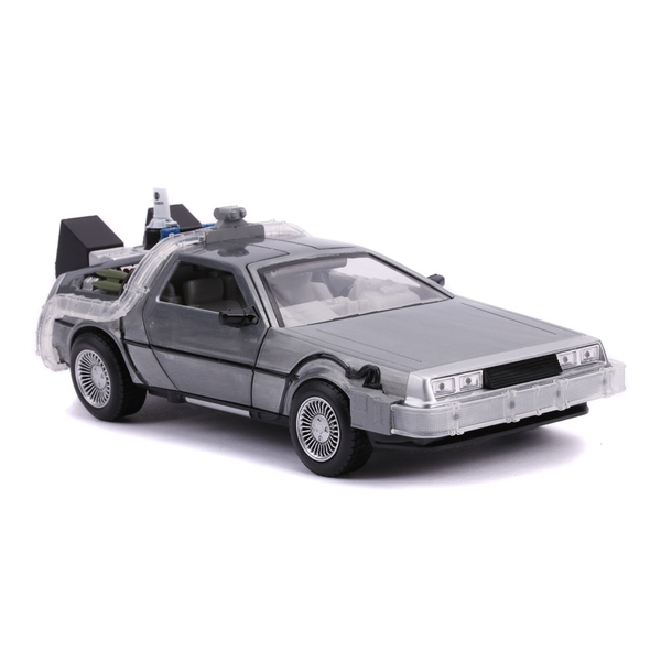 Universal - Back to the Future DeLorean (Future) Die-cast Toy Time Machine Car