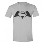 DC Comics Batman vs Superman: Dawn of Justice Adult Male Logo Small T-Shirt