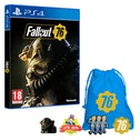 Fallout 76 PS4 Game + Exclusive Pin Badge Set