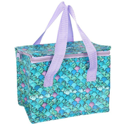 Mermaid Scale Print Cooler Bag